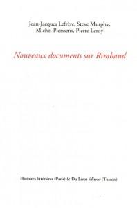 Nouveaux documents sur Rimbaud