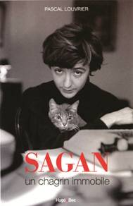Couverture de Sagan un chagrin immobile