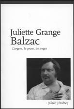 couverture de Balzac de Juliette Grange