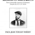 Couverture d'Histoires littéraires n°56