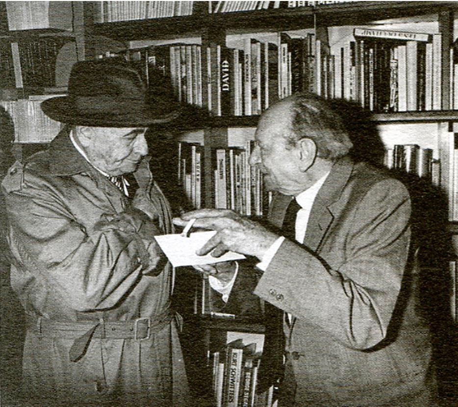Aragon et Philippe Soupault par Louis Monier