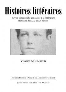 Couverture Histoires littéraires n°57
