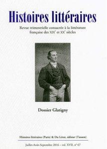 Histoires littéraires n°67