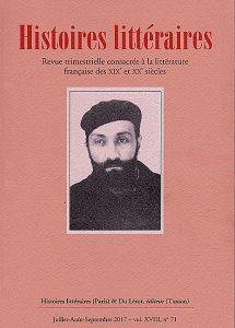 couverture-Histoires littéraires-71