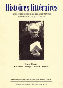 Histoires littéraires n°73