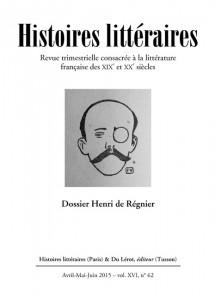 Couverture Histoires littéraires n°62