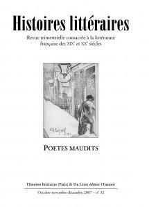 Couverture d'Histoires littéraires n°32