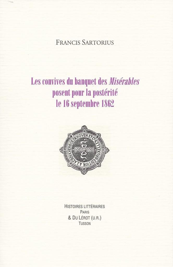 Le banquet des Misérables Supplément à HL n°12