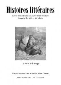 Histoires littéraires n°59-60 Juillet-Décembre 2014