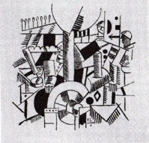 J'ai'tué de Blaise Cendrars illustré par Léger