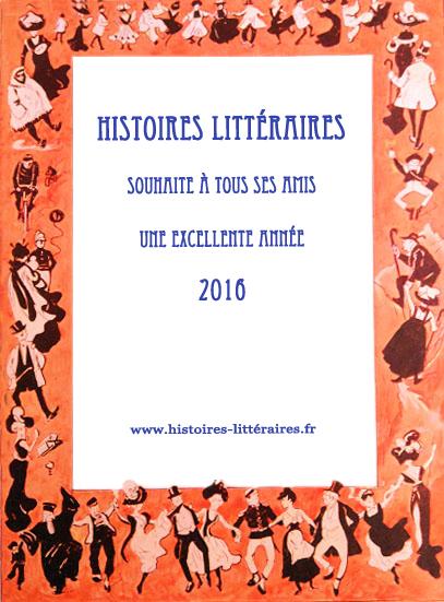 Voeux Histoires Littéraires 2016