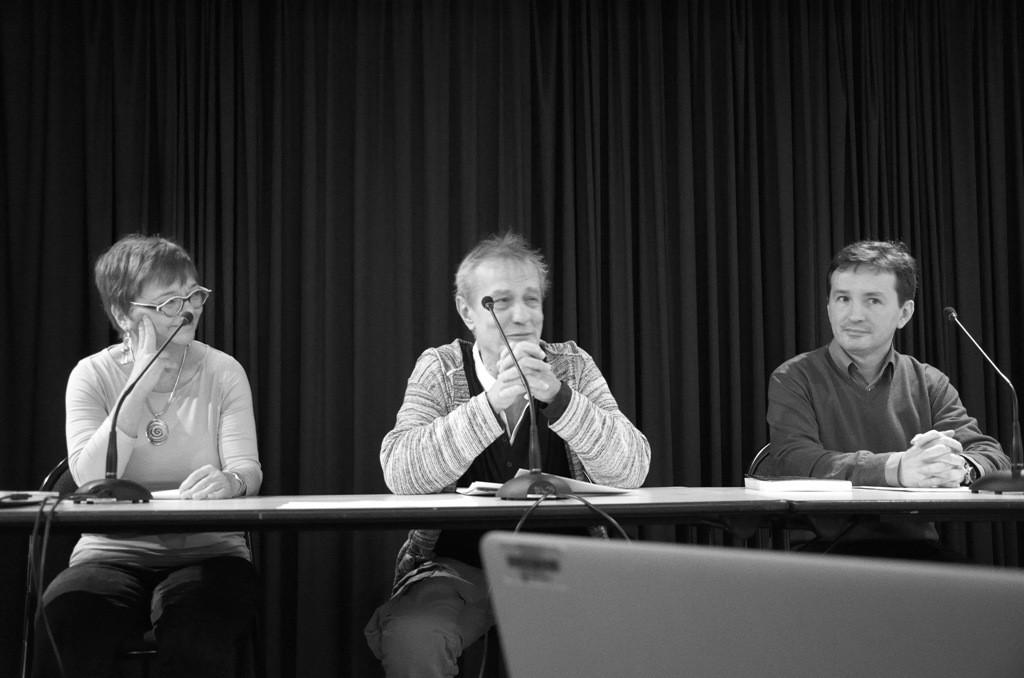 Élisabeth Chamontin, Jean-Paul Morel, François Salaün