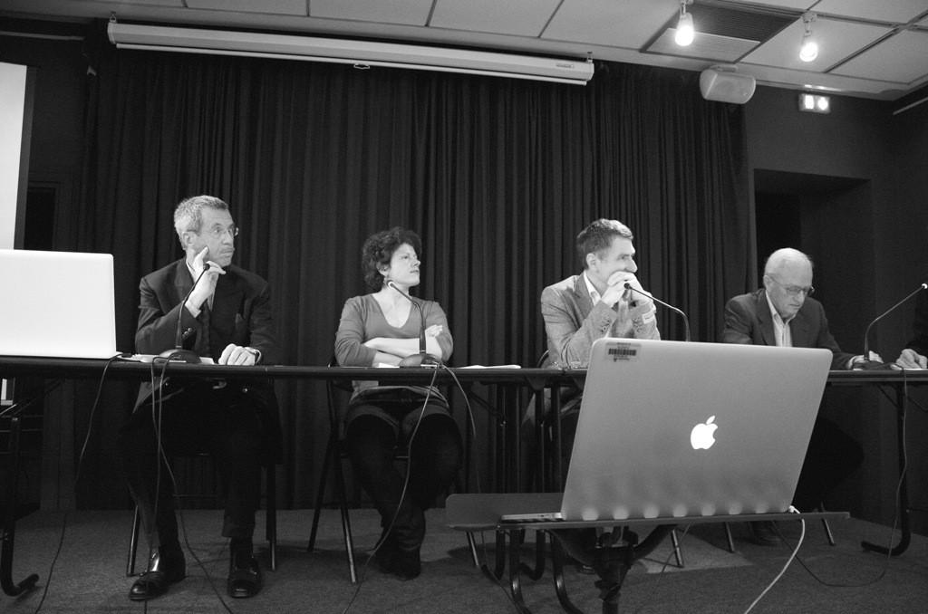 Julien Bogousslavsky, Martine Lavaud, Olivier Bessard-Banquy, Paul Scneebeli