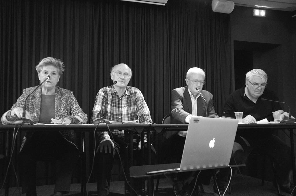 Françoise Gaillard, Alain Chevrier, Paul Schneebeli,Jean-Didier Wagneur