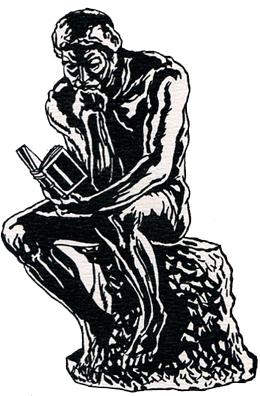 le penseur Histoires littéraires n°1