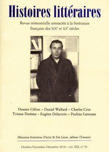 couverture-Histoires littéraires-76