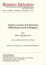 Archives et musée de la littérature, Bibliothèque royale de Belgique