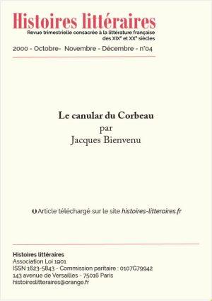 garde 2000-04-Le canular du Corbeau