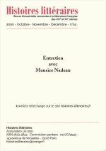 Entretien avec Maurice Nadeau
