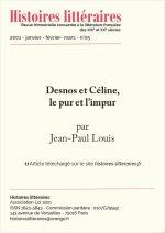 Desnos et Céline, le pur et l'impur