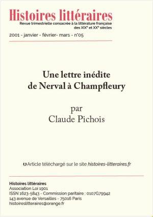 HL-2001-05-06-Lettre inédite de Nerval à Champfleury