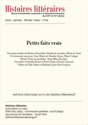 HL-2001-05-07-Petits faits vrais