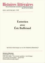 Entretien avec Éric Buffetaud