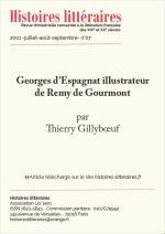 Georges d'Espagnat illustrateur de Remy de Gourmont