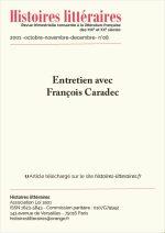 Entretien avec François Caradec