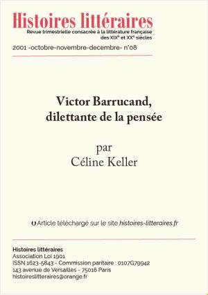 Page de garde de Victor Barrucand