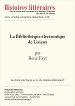La Bibliothèque électronique de Lisieux