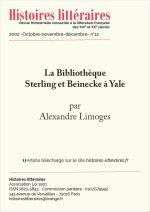 La Bibliothèque Sterling et Beinecke à Yale