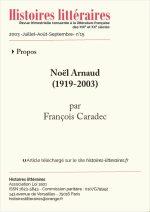 Noël Arnaud<br/>(1919-2003)