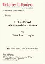 Hélène Picard<br/>et le tournoi des poétesses