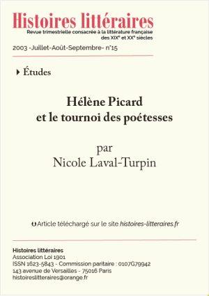 page de garde Helene Picard