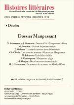 Dossier Maupassant du n°16 (8 articles)