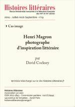Henri Magron, photographe d'inspiration littéraire
