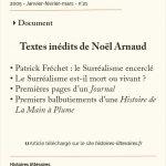 Textes inédits de Noël Arnaud