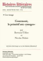 """Gourmont, le primitif aux """"ymages"""""""