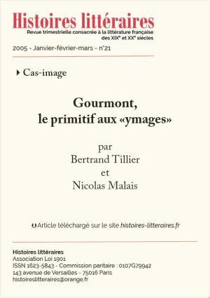 Page titre de Gourmont le primitif aux ymages