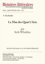 <em>Le Mur<em/> des Quat'z'Arts