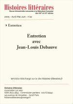 Entretien avec Jean-Louis Debauve