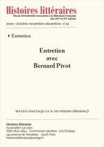 Entretien avec Bernard Pivot