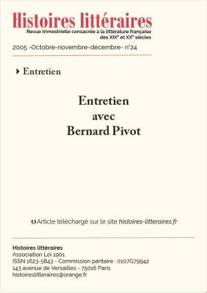 Couverture HL-2005-24-03-Bernard Pivot