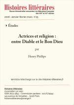 Actrices et religion : <br/>entre Diable et Bon Dieu