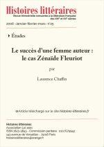Le succès d'une femme auteur :<br/>le cas Zénaïde Fleuriot