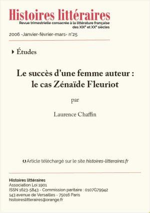 Page titre le cas Zénaïde Fleuriot