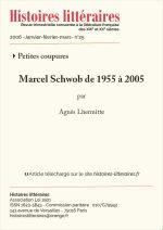 Marcel Schwob de 1955 à 2005