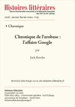 L'affaire Google
