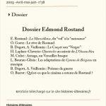 Dossier Edmond Rostand